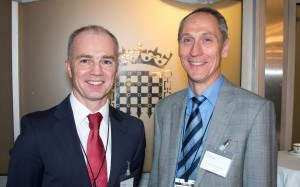 Dr. Crowe & Dr. Cleveland at Westminster